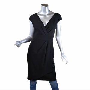 White House Black Market Women's Small Black Dress